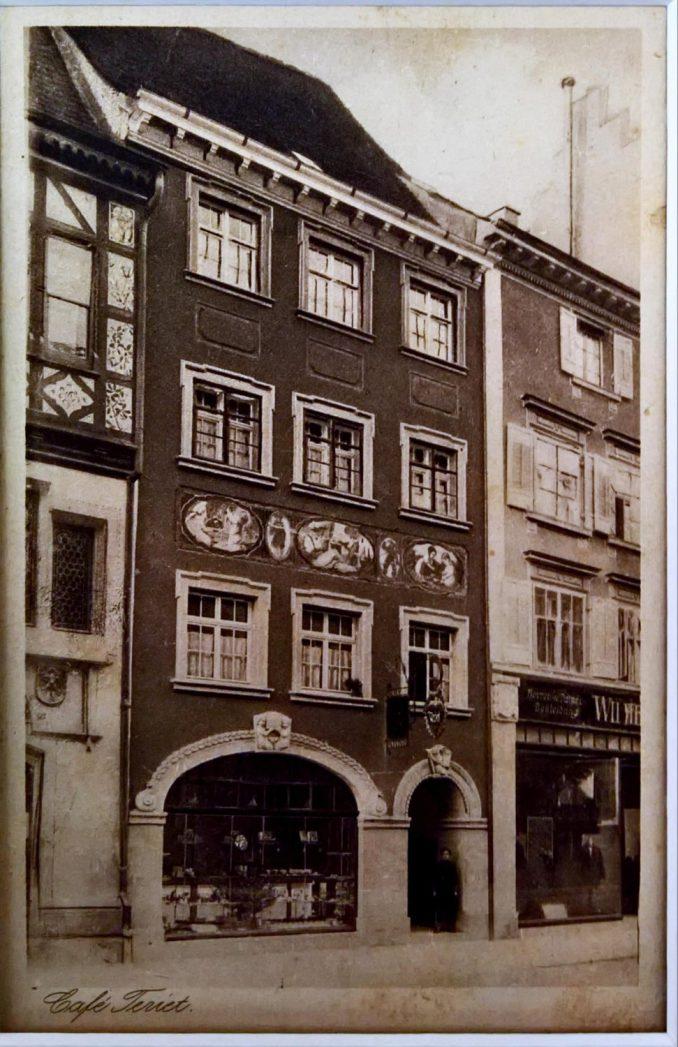 Café Teriet in der Münsterstraße