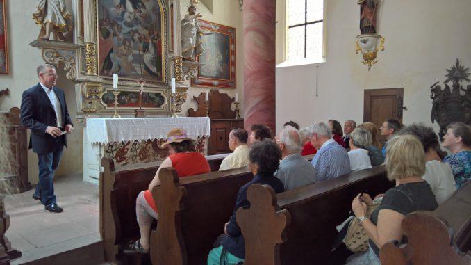 Führung durch die Luzienkapelle