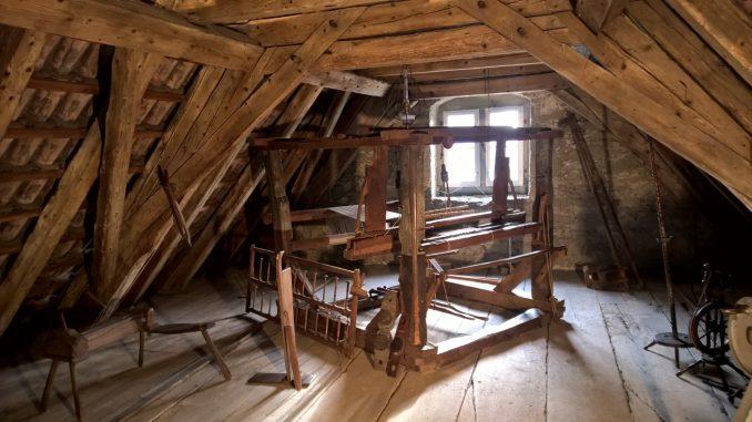 Dachstuhl Kapelle